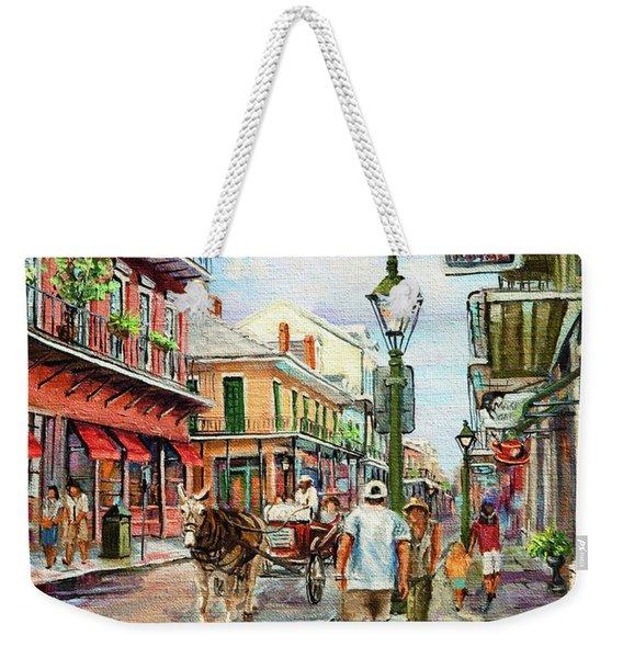 French Quarter Antiques Weekender Tote Bag