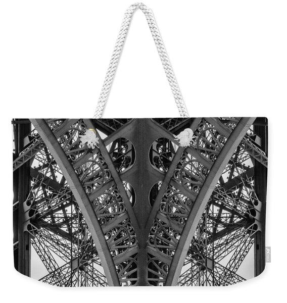 French Symmetry Weekender Tote Bag