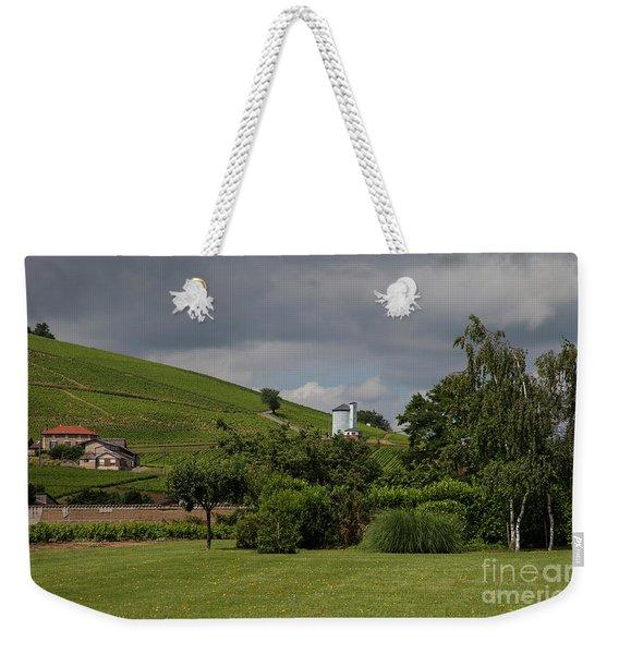 French Vineyard Weekender Tote Bag