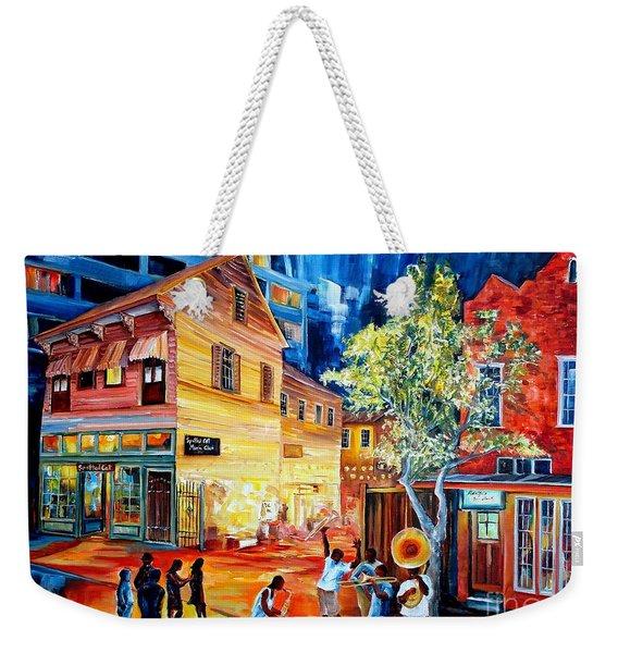 Frenchmen Street Funk Weekender Tote Bag