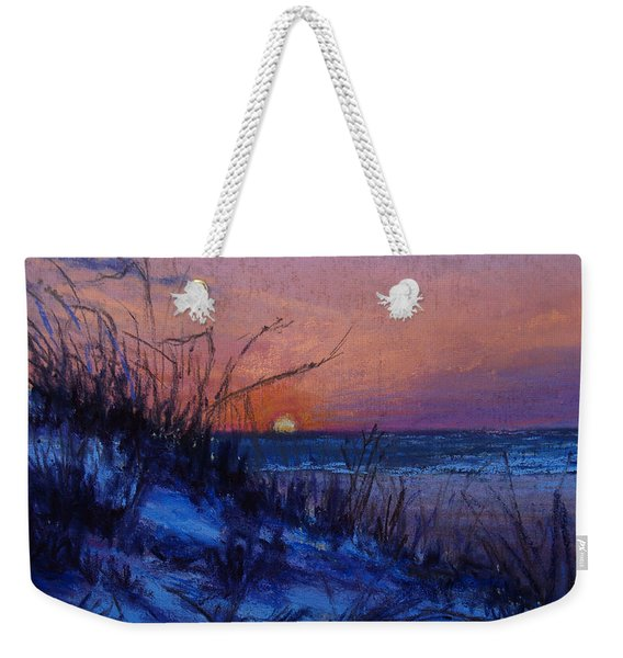 Frenchy's Sunset Weekender Tote Bag