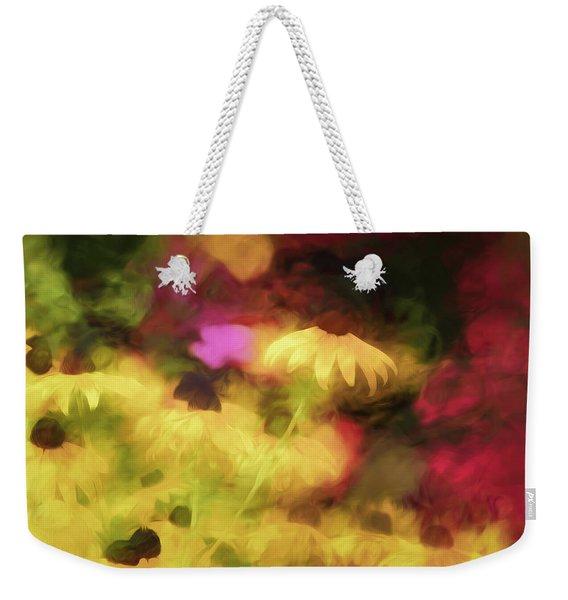 Flowery Magic  Weekender Tote Bag