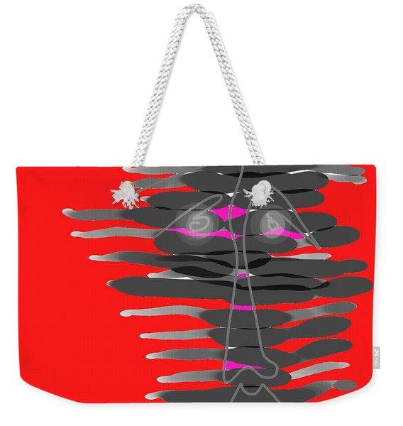 Frenzy Weekender Tote Bag