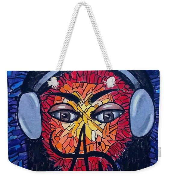 Frequencial - Abstract Art Music Painting - Ai P.nilson Weekender Tote Bag