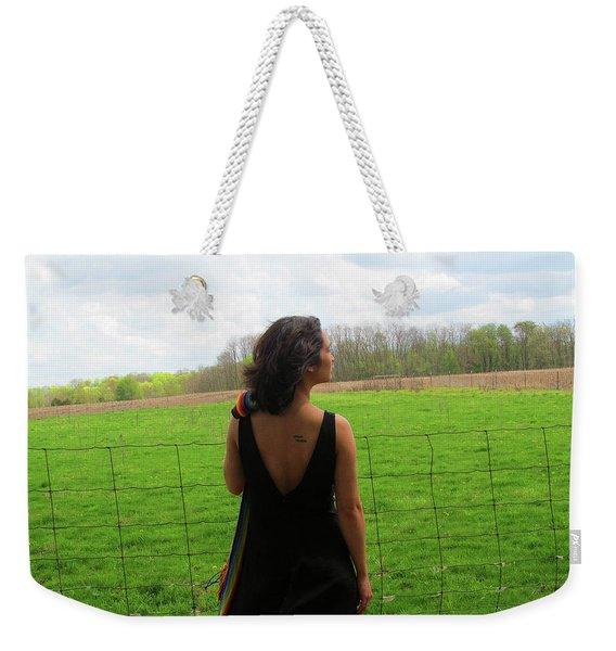 Fresh Air Fresh Start Weekender Tote Bag
