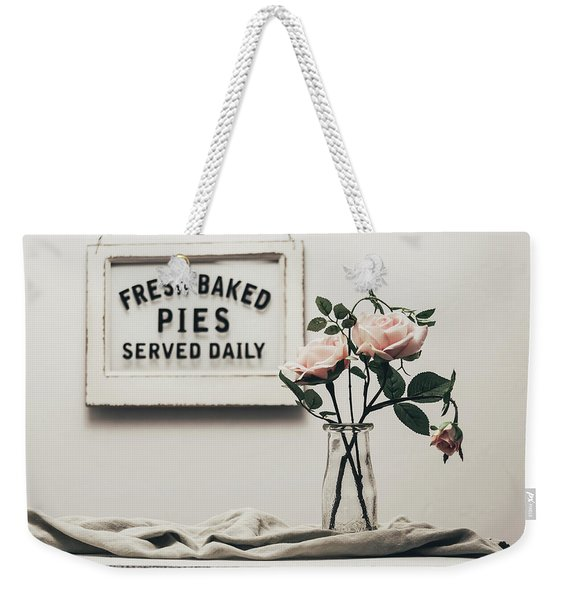 Fresh Baked Weekender Tote Bag
