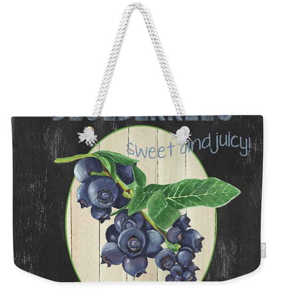 Fresh Berries 1 Weekender Tote Bag