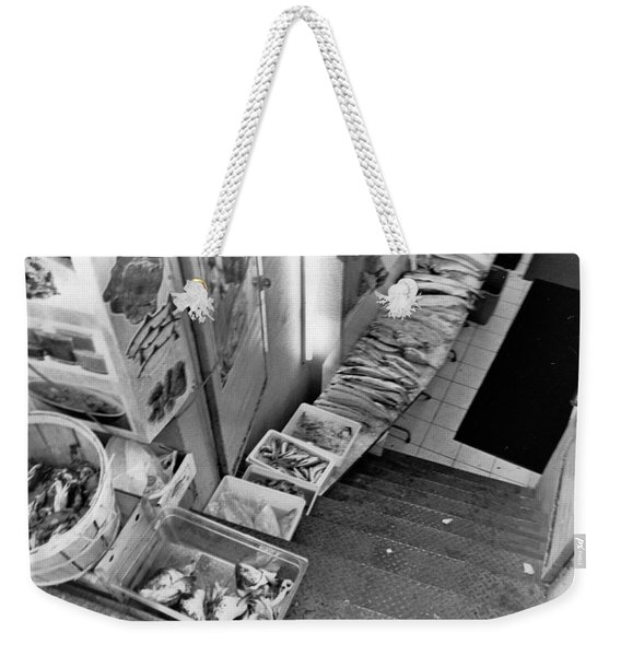 Fresh Fish  Weekender Tote Bag
