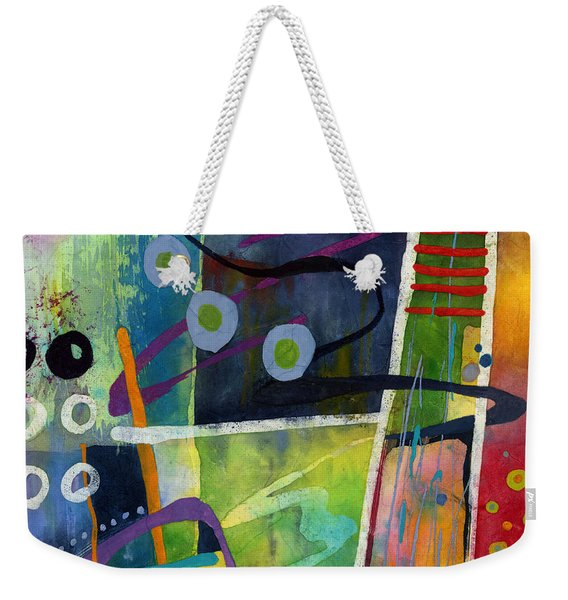 Fresh Jazz In A Square Weekender Tote Bag