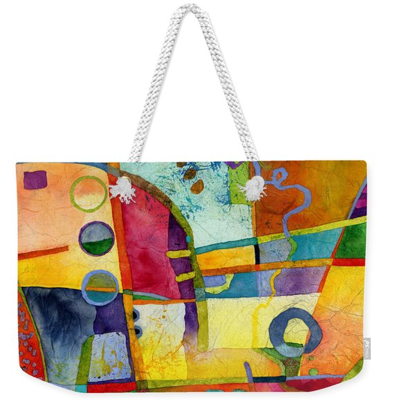 Fresh Paint Weekender Tote Bag