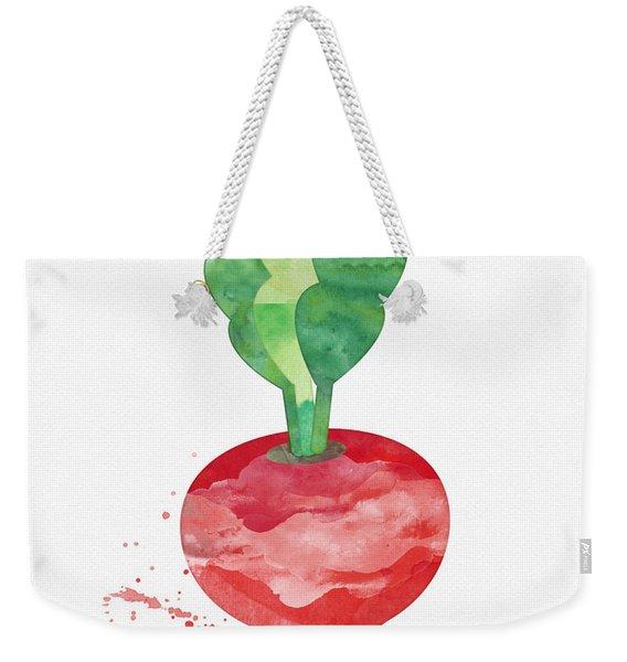 Fresh Radish Weekender Tote Bag
