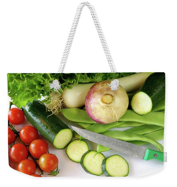 Fresh Vegetables Weekender Tote Bag