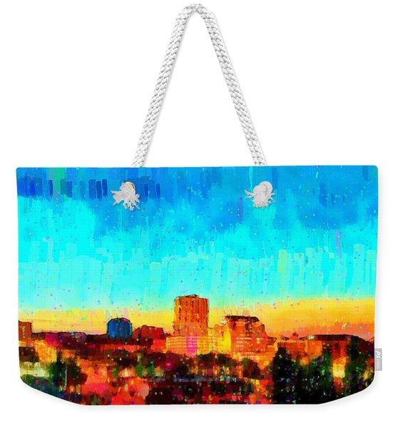 Fresno Skyline 100 - Da Weekender Tote Bag