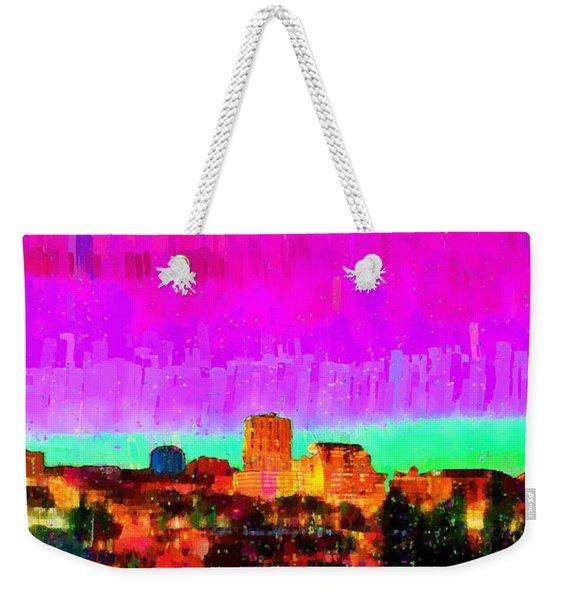 Fresno Skyline 103 - Da Weekender Tote Bag