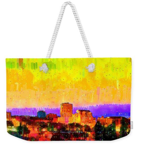 Fresno Skyline 106 - Pa Weekender Tote Bag
