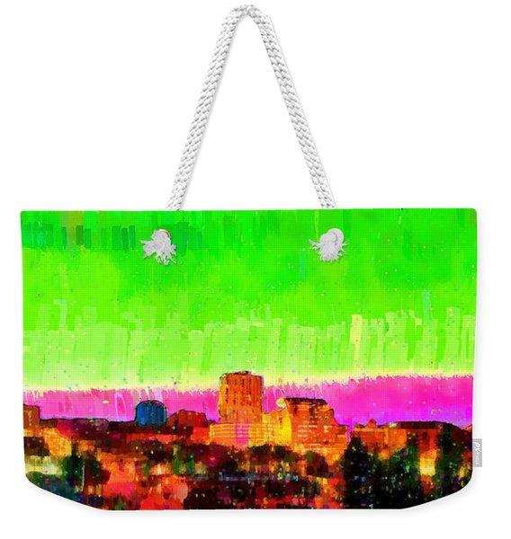 Fresno Skyline 107 - Pa Weekender Tote Bag