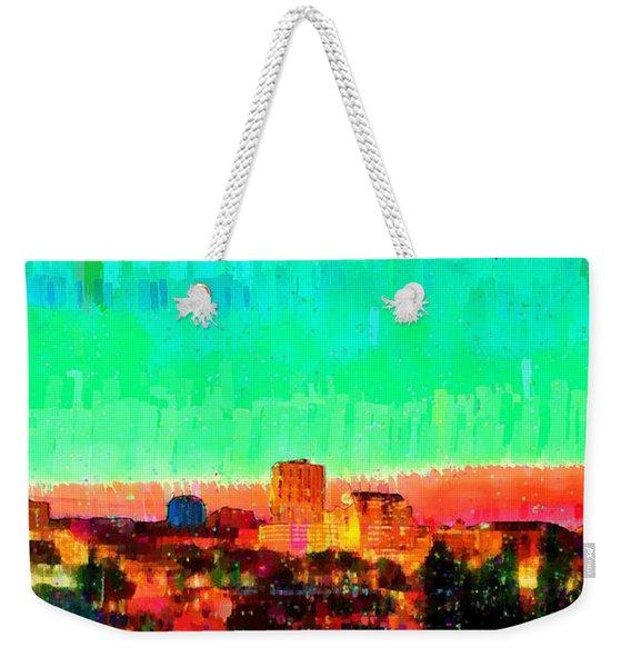Fresno Skyline 108 - Pa Weekender Tote Bag