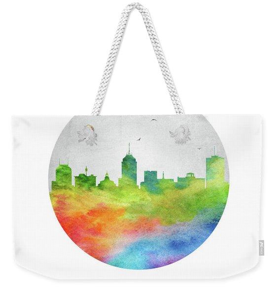 Fresno Skyline Uscafr20 Weekender Tote Bag