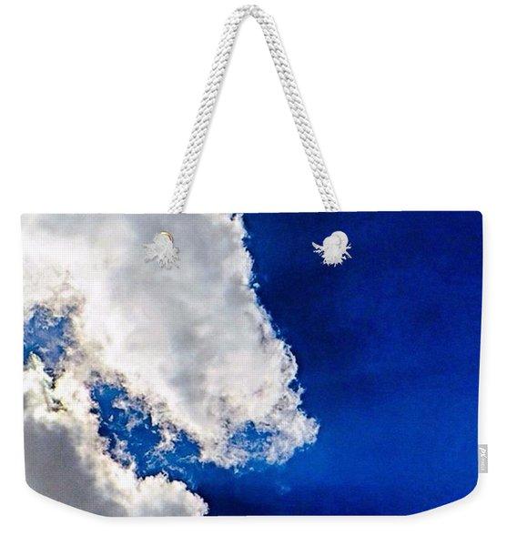 Friday Afternoon #skyporn.  I Am Weekender Tote Bag