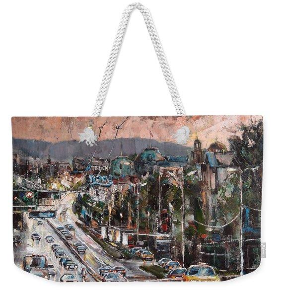 Friday Eveneing Weekender Tote Bag