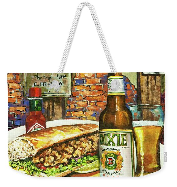 Friday Night Special Weekender Tote Bag
