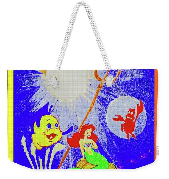 Friends Below The Sea Weekender Tote Bag