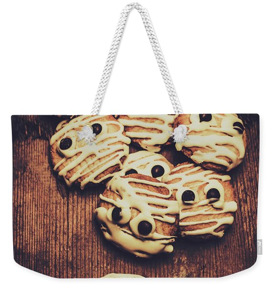 Fright Night Party Baking Weekender Tote Bag