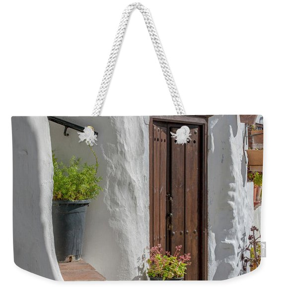 Frigiliana House Front Weekender Tote Bag