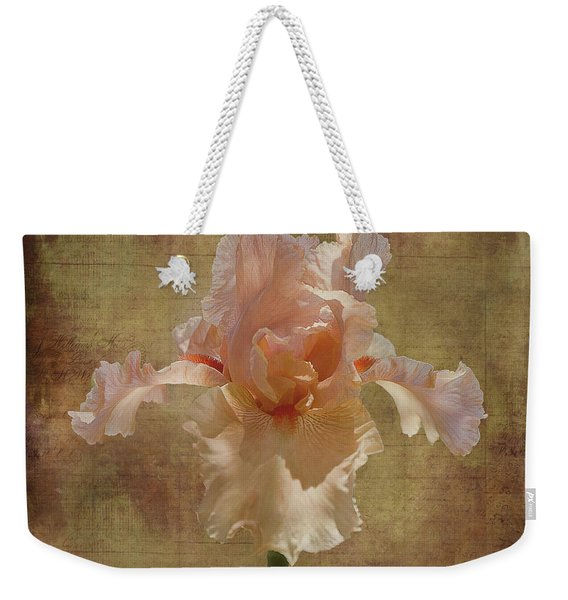 Frilly Iris Weekender Tote Bag