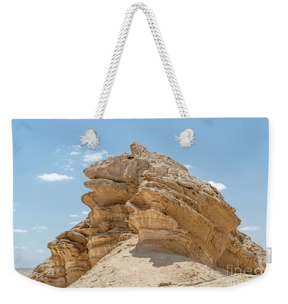 Weekender Tote Bag featuring the photograph Frog Rock by Arik Baltinester