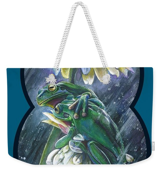 Frogs- Optimized For Shirts And Bags Weekender Tote Bag