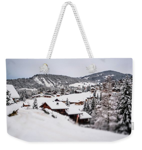 From A Distance- Weekender Tote Bag