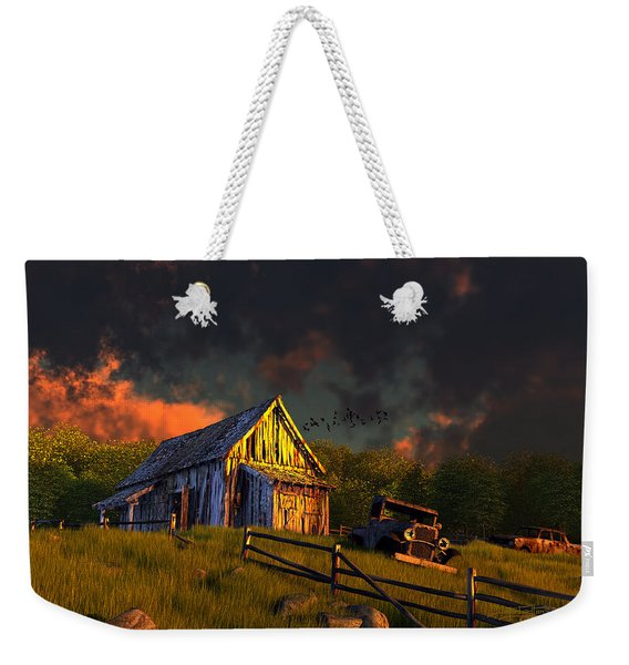 From A Distant Time Weekender Tote Bag