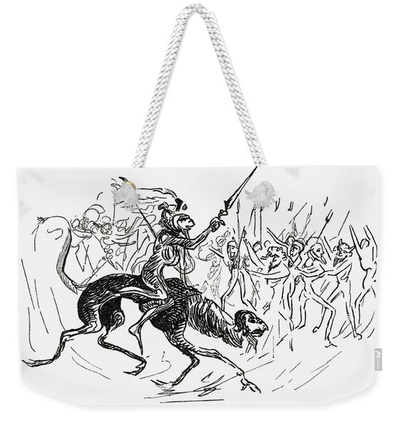 From An Illustrated Dante, Drawn By Weekender Tote Bag