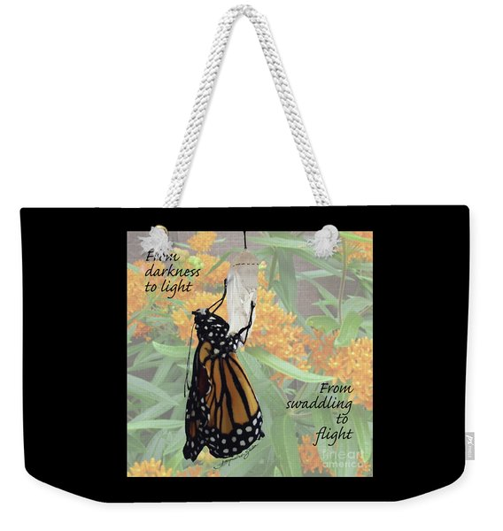 From Darkness To Light Weekender Tote Bag