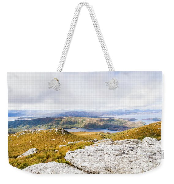 From Mountains To Lakes Weekender Tote Bag