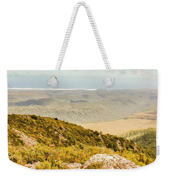 From Mountains To Seas Weekender Tote Bag
