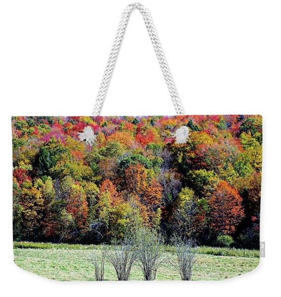 From New Hampshire With Love - Fall Foliage Weekender Tote Bag