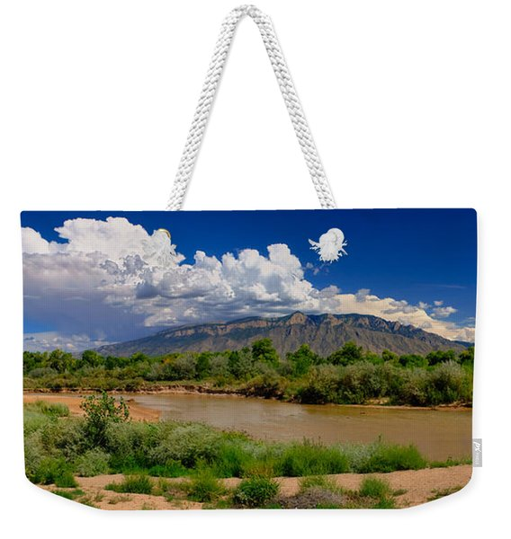 From River To Summit Weekender Tote Bag