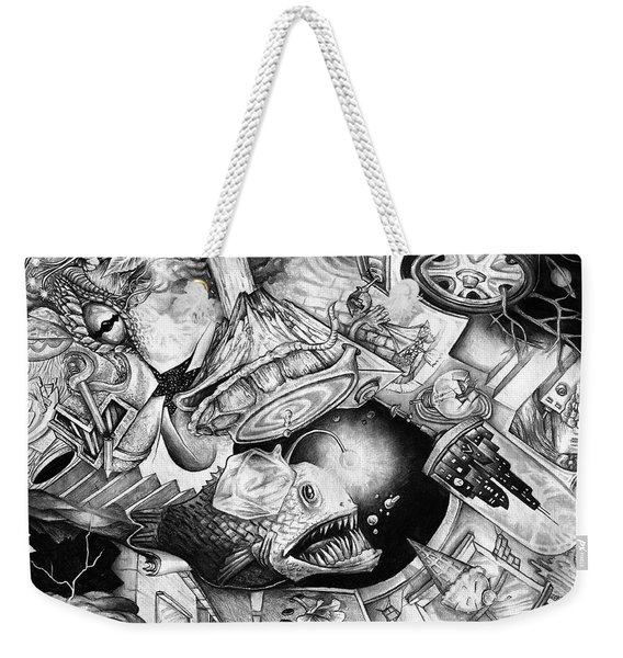 From The Mind 1 Weekender Tote Bag