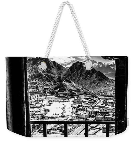 From Up On High In Leh, Northern India Weekender Tote Bag
