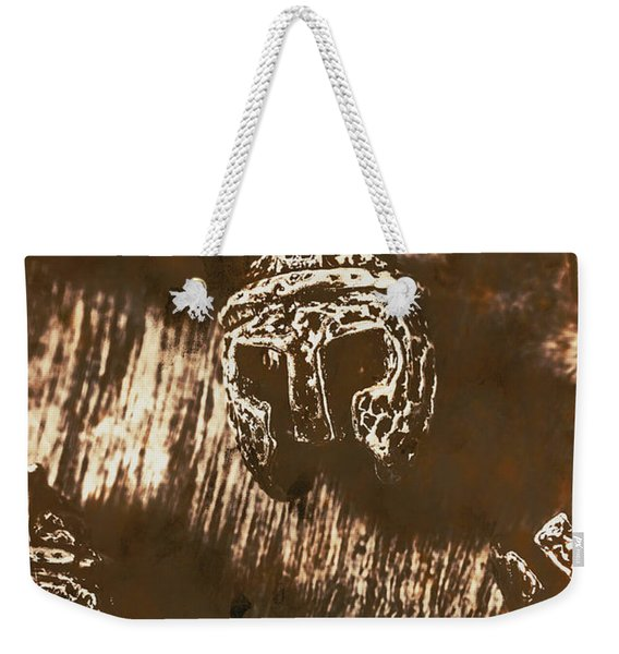 From Warriors Of Past Weekender Tote Bag