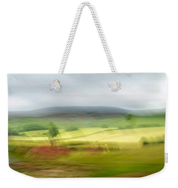 heading north of Yorkshire to Lake District - UK 1 Weekender Tote Bag