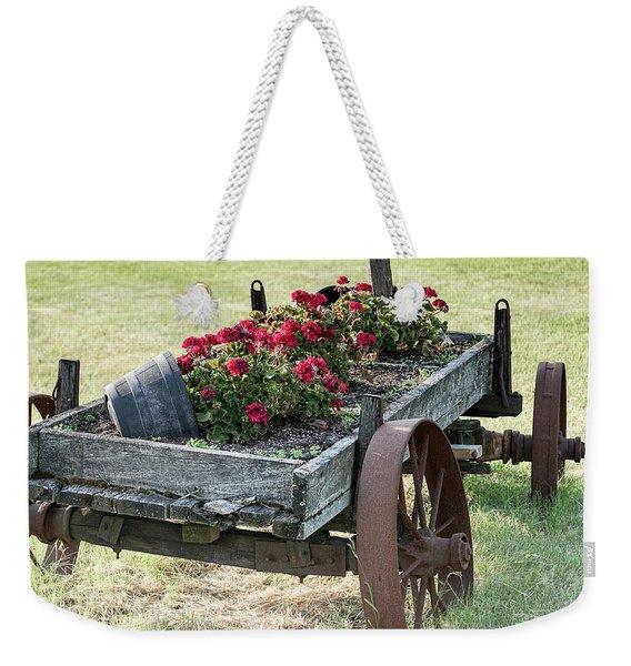 Front Yard Decor Weekender Tote Bag
