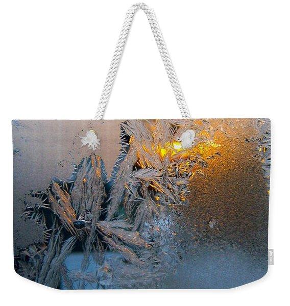Frost Warning Weekender Tote Bag