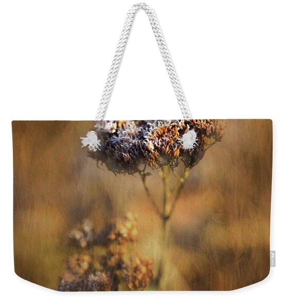 Frosted Bloom Weekender Tote Bag