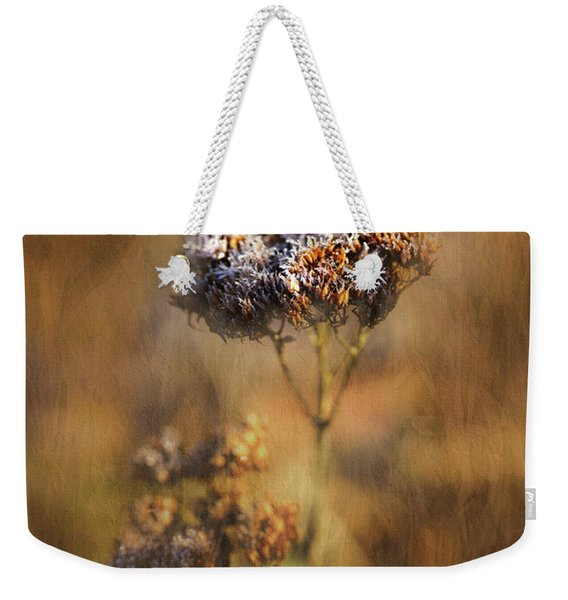 Frosted Bloom Weekender Tote Bag