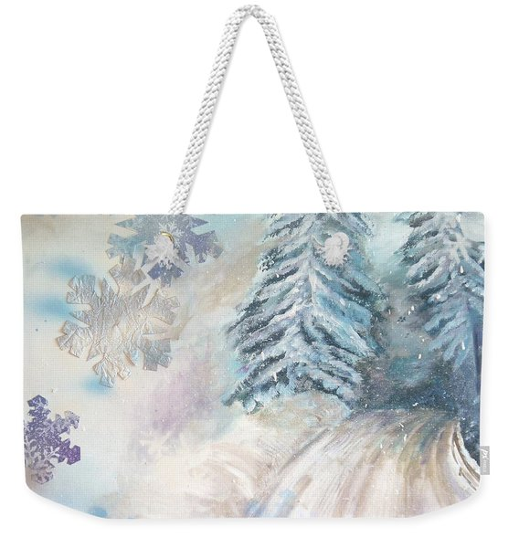Frosted Secrets Of Winter Weekender Tote Bag