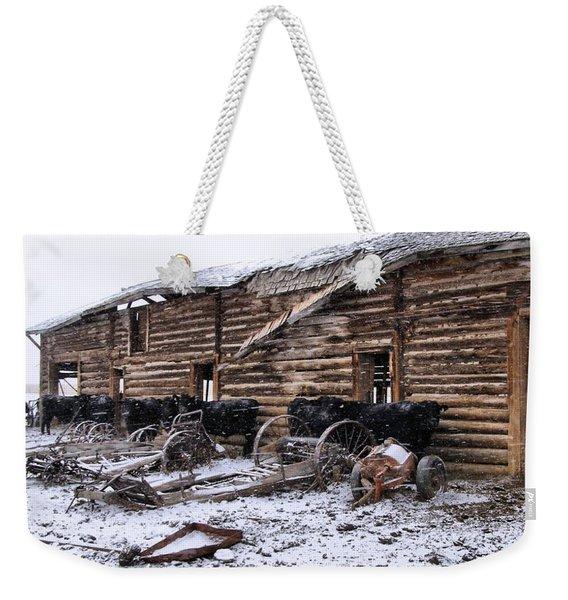 Frozen Beef Weekender Tote Bag