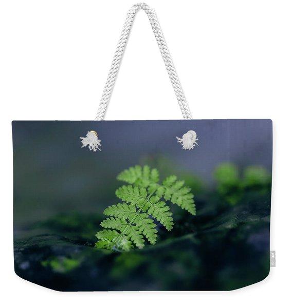 Frozen Fern II Weekender Tote Bag